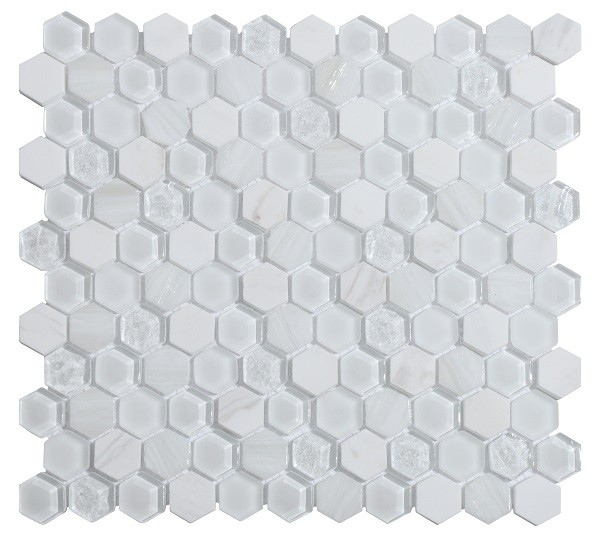 Мозаика Inter Matex Living White 30x30 см