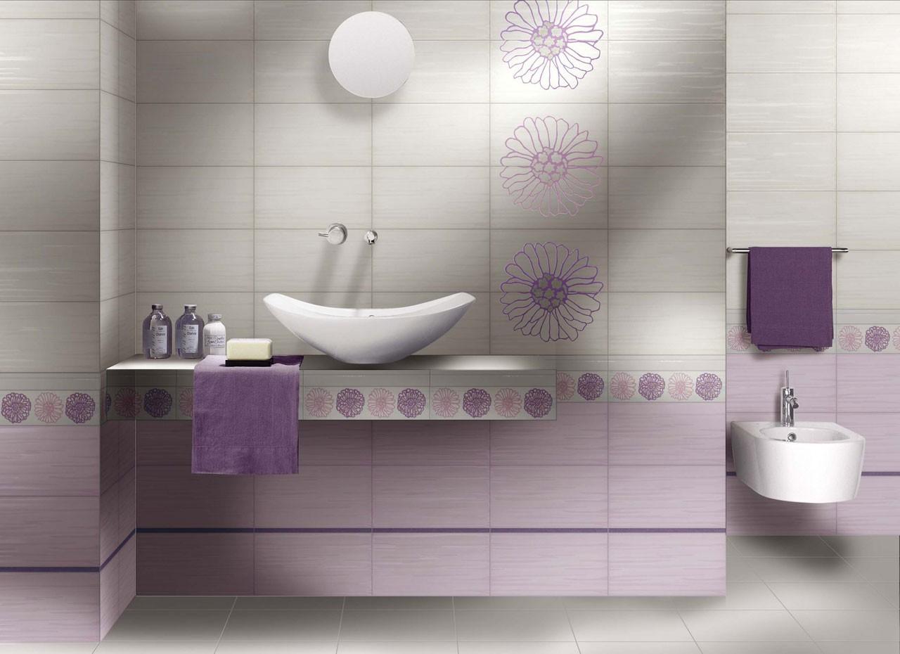 Piastrelle bagno lilla idee per la casa douglasfalls
