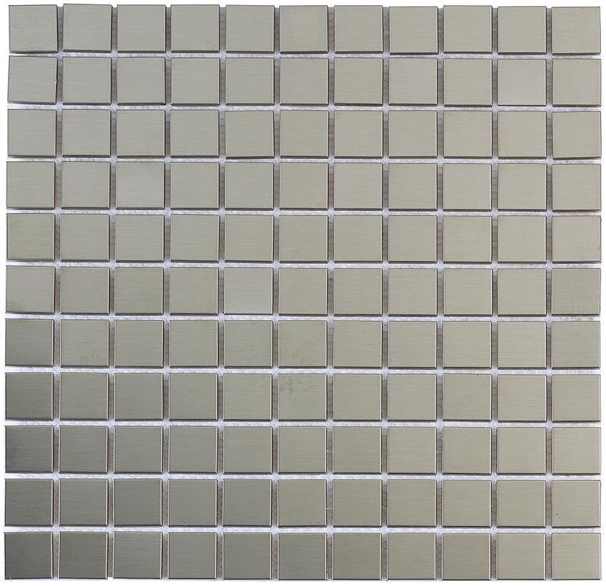 Aparici Design Mosaics Tram Silver Metalizado 30.5x30.5 см
