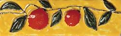 Tonalite Provenzale Listello Aranci Giallo 5x15 см