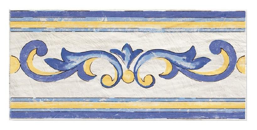 Savoia Cotto Mediterraneo Pompei Fascia 16.5x33.3 см